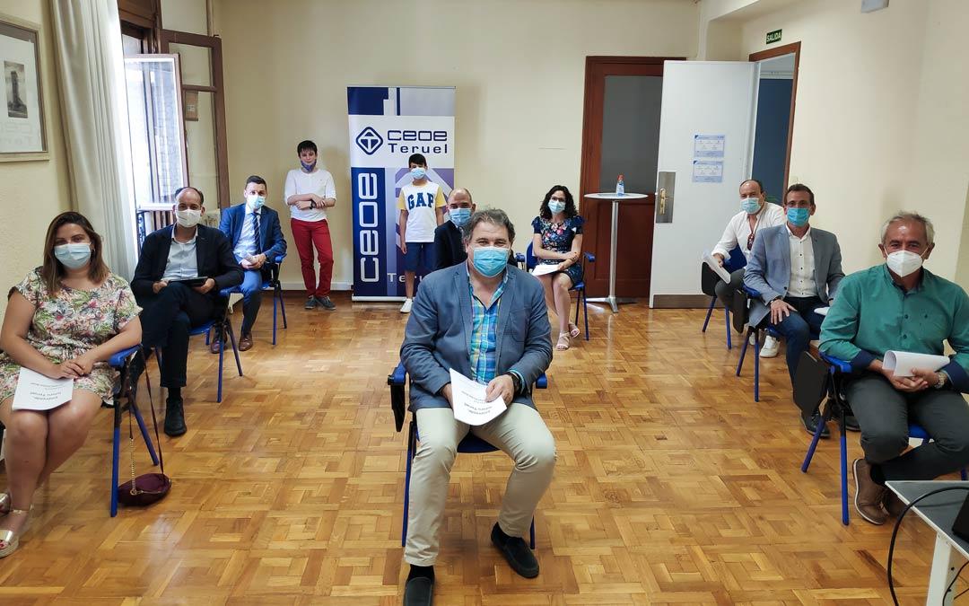 Presentación de proyectos de la tercera edición del concurso 'Emprende Futuro Teruel'./LA COMARCA