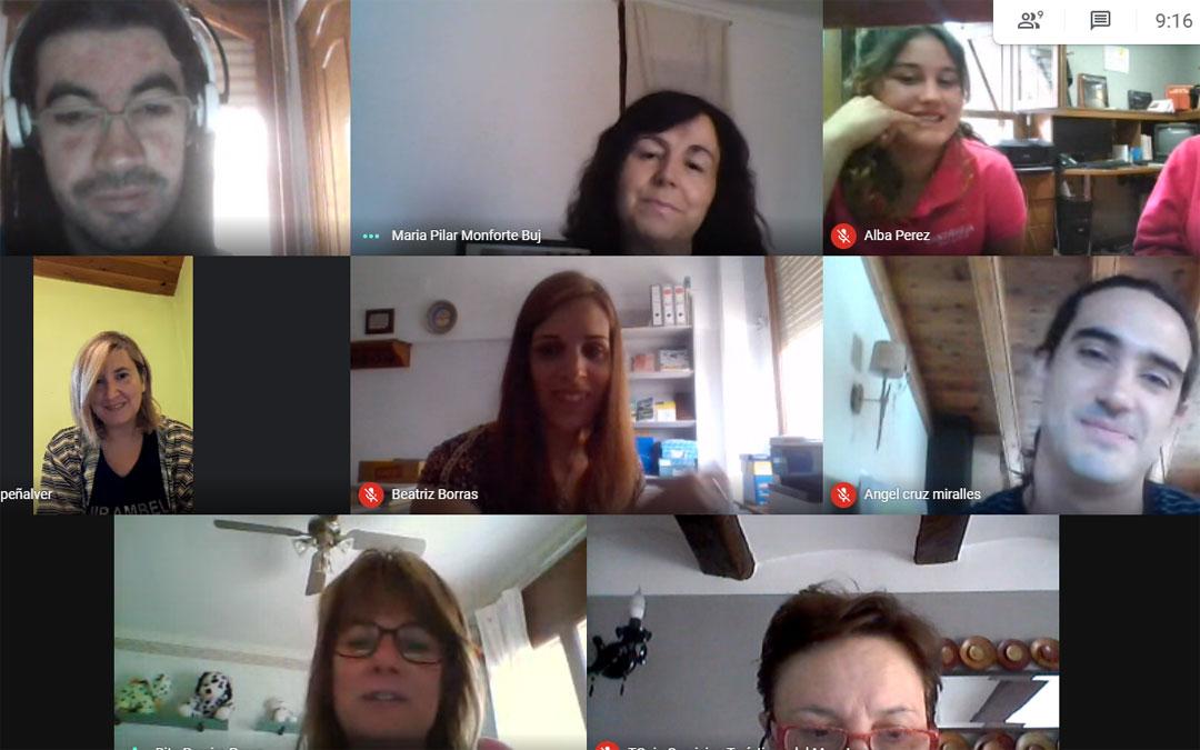 Reunión telemática de las Oficinas de Turismo del Maestrazgo./LA COMARCA