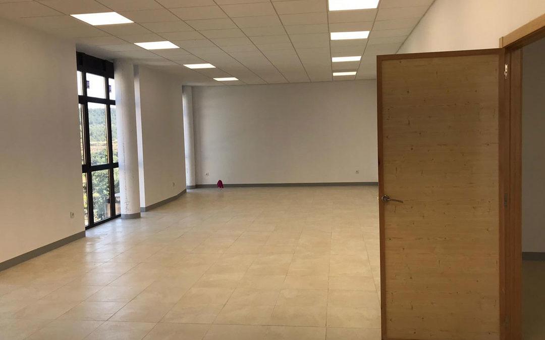 El Ayuntamiento de Valjunquera finaliza la construcción del gimnasio municipal