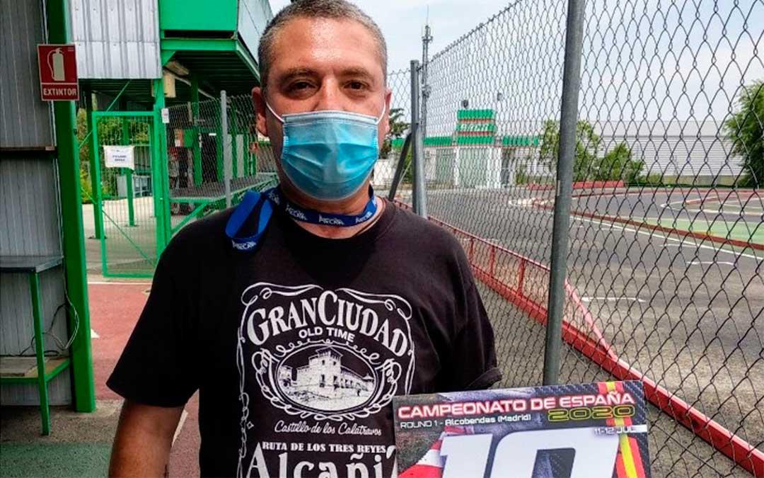 El alcañizano José Manuel Salafranca finaliza en el Top 10 del Campeonato de España de Automodelismo