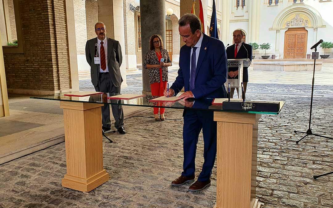 La DPZ aportará 5 millones de euros para impulsar medidas de la estrategia aragonesa para la recuperación social y económica