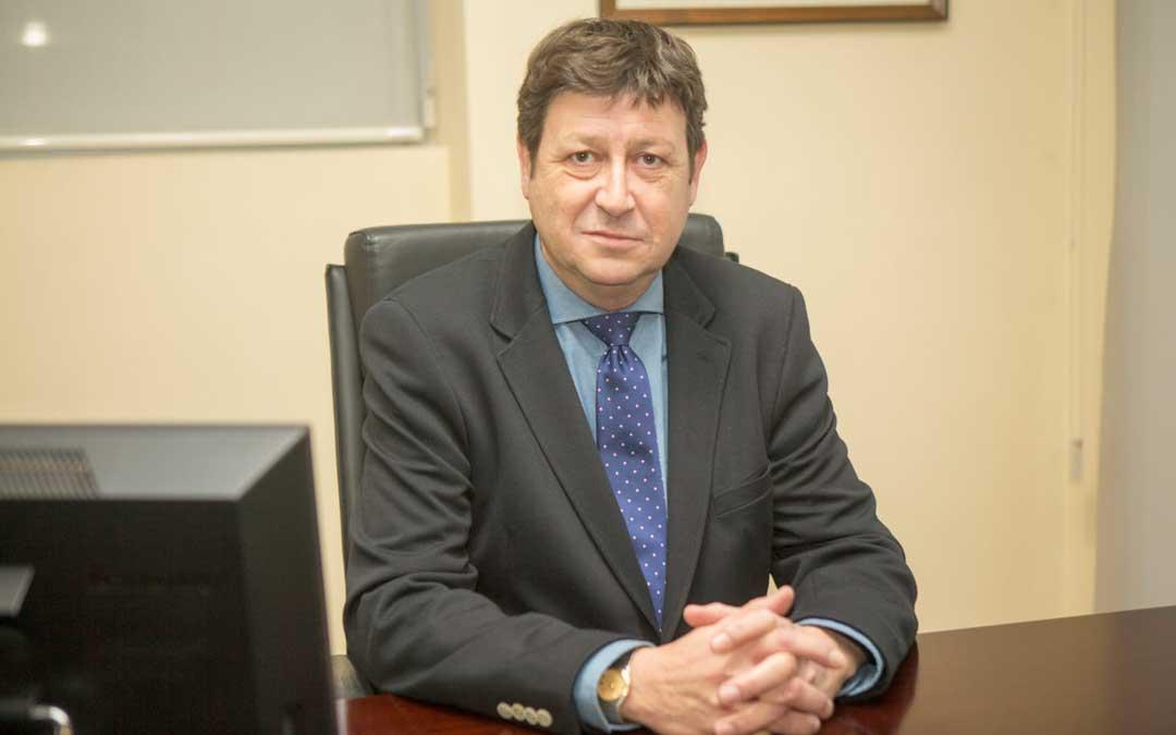 César Soriano Malet es el presidente de la Asociación de Transportes de Teruel