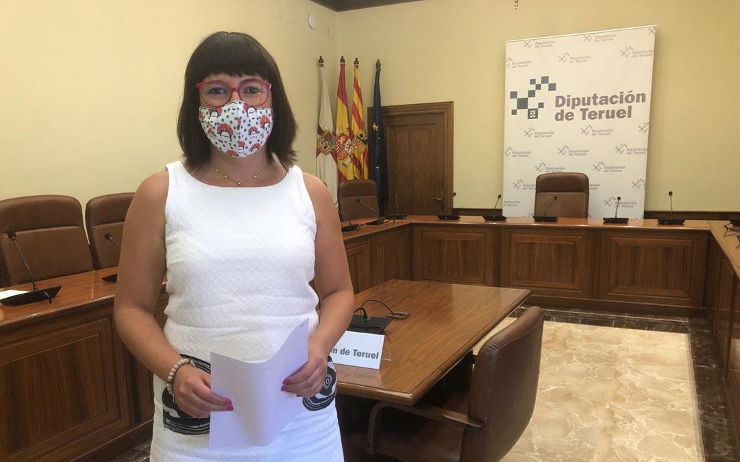 Susana Traver, Diputada Delegada de Educación, Bienestar Social e Igualdad. / DPT