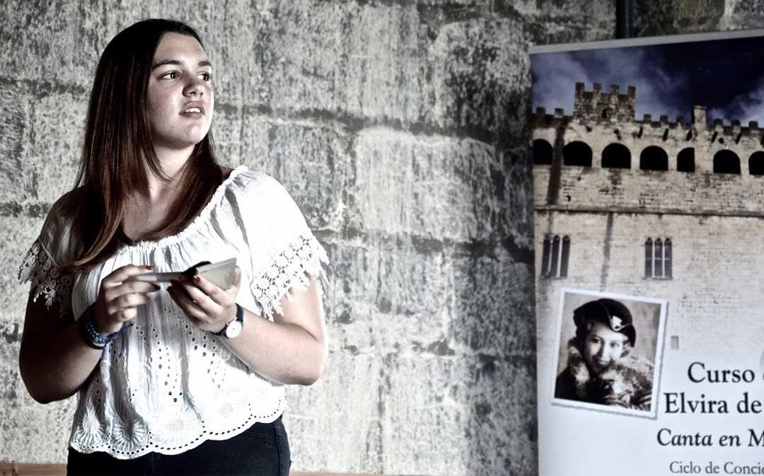 Valderrobres celebrará en septiembre el IX curso de canto Elvira Hidalgo