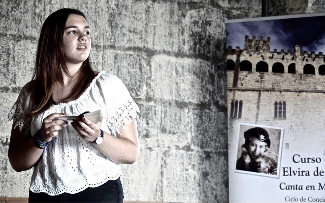 El curso de canto Elvira Hidalgo contará este año con 20 alumnos./ L.C.