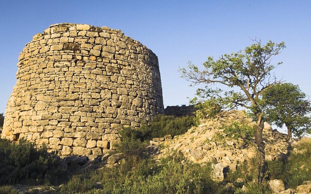 Poblado ibérico Cabezo de San Pedro./ Archivo fotográfico del Consorcio Iberos en el Bajo Aragón