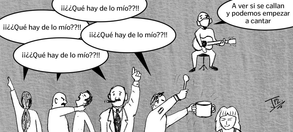 Humor gráfico-coronavirus- artistas