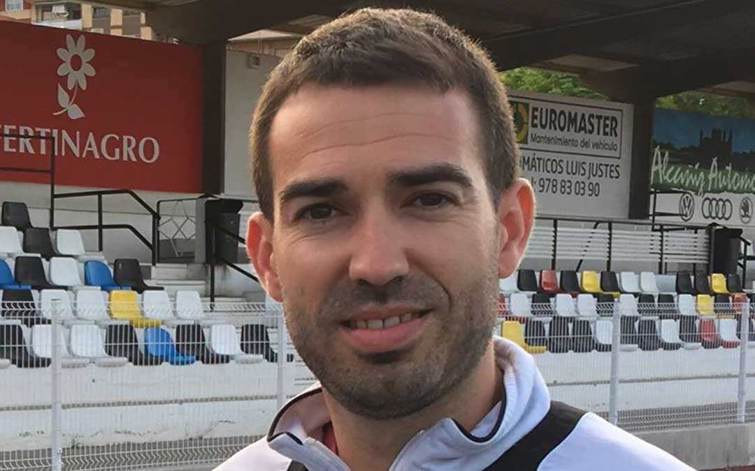 Alberto Portolés es el nuevo técnico del Alcañiz C.F.