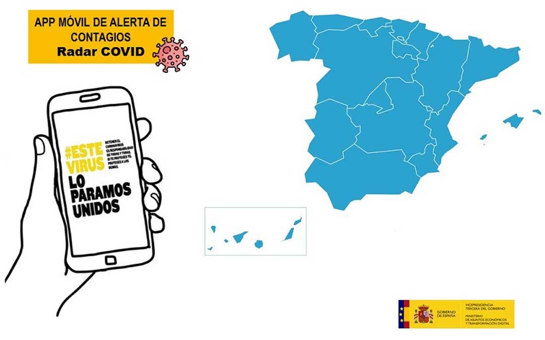 App móvil de alerta de contagios./ L.C.