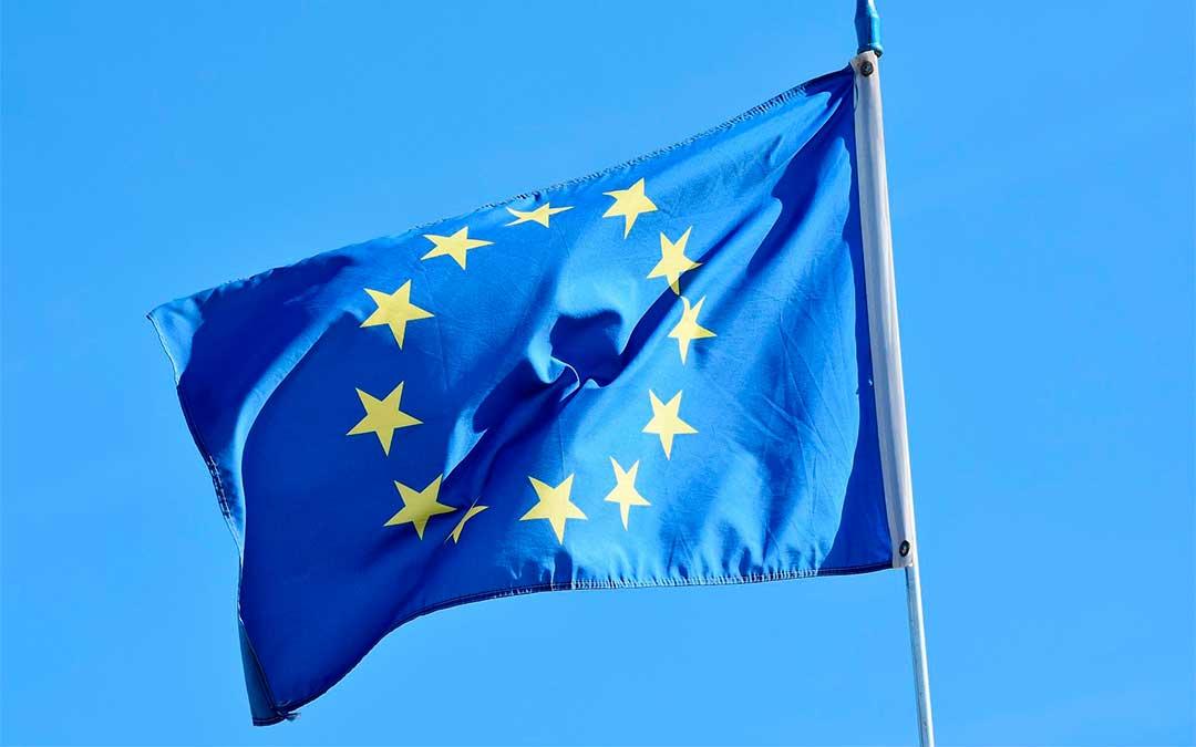 Bandera de la Unión Europea./ L.C.