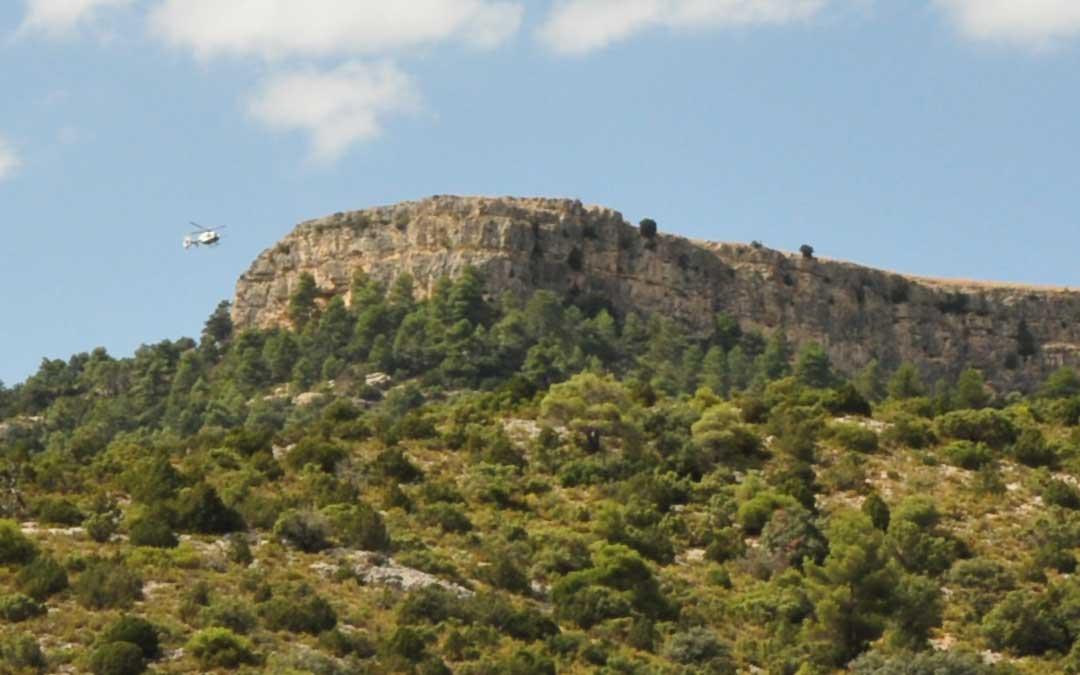 Montículo de La Caixa, situado entre Beceite y Valderrobres./L.C.