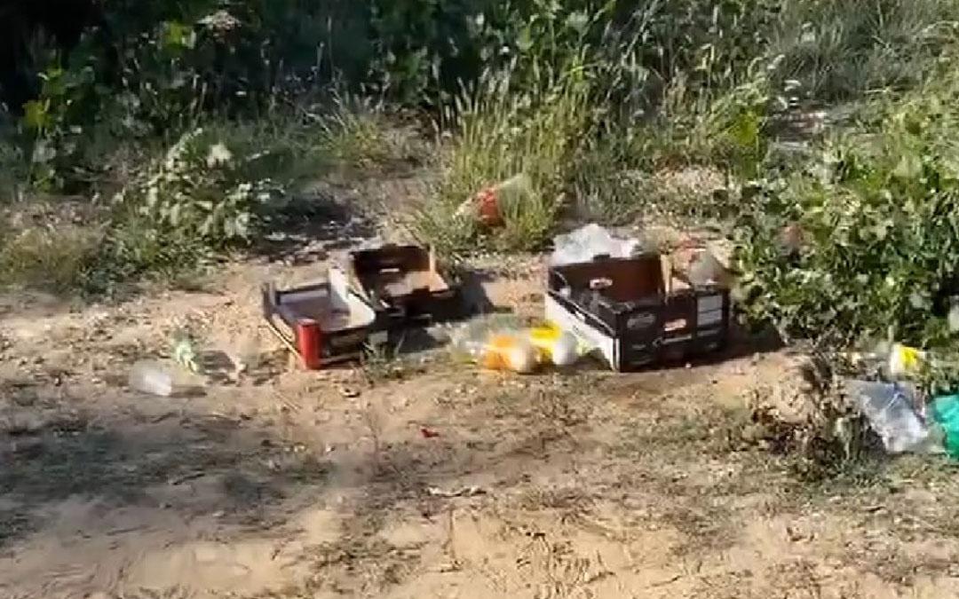 Basura en Mas de las Matas / Facebook Ayuntamiento