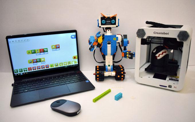 Campus tecnológico para los pequeños de la casa este verano