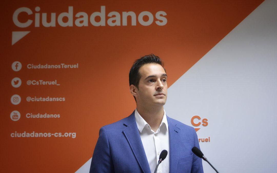 Ramón Fuertes, diputado de la DPT de Ciudadanos.