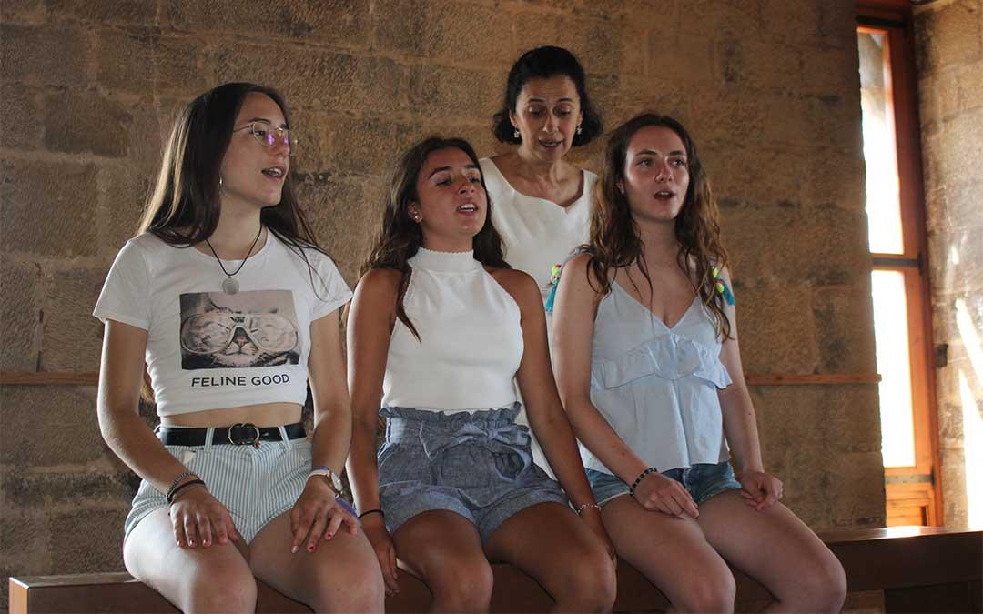 Curso de canto Elvira de Hidalgo celebrado en 2019./ M. Celiméndiz