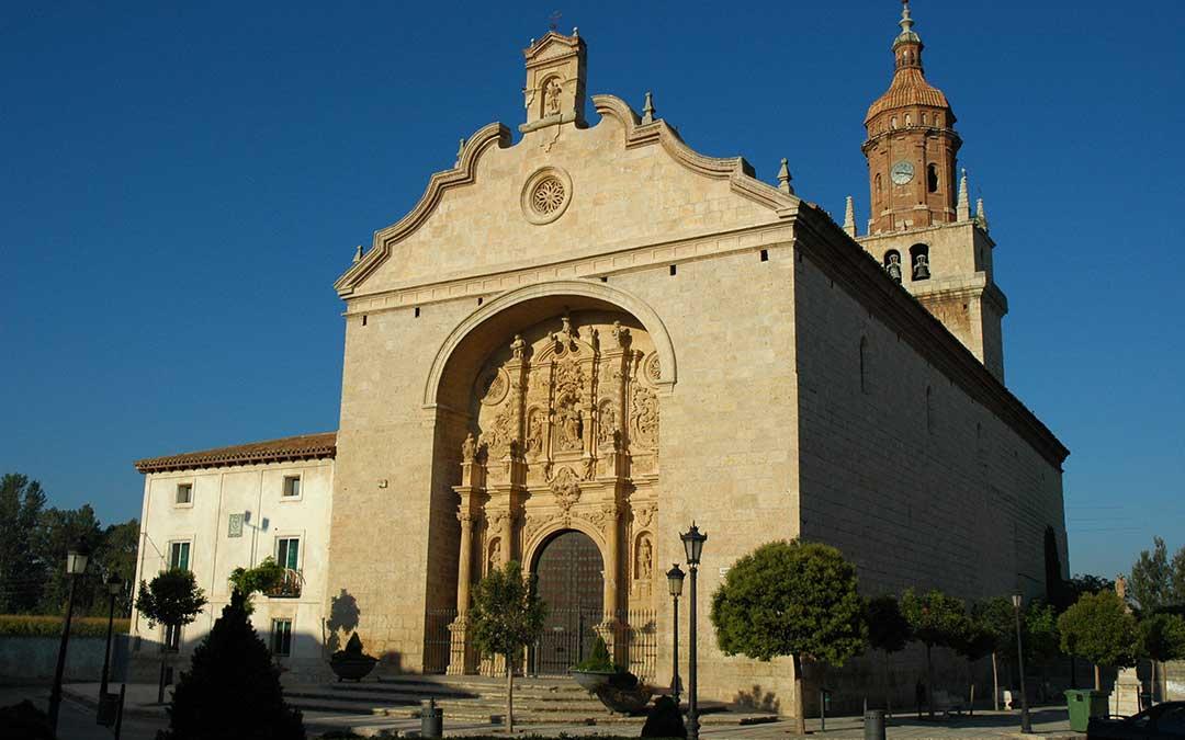 Imagen de uno de los puntos de interés de la localidad de Calamocha./