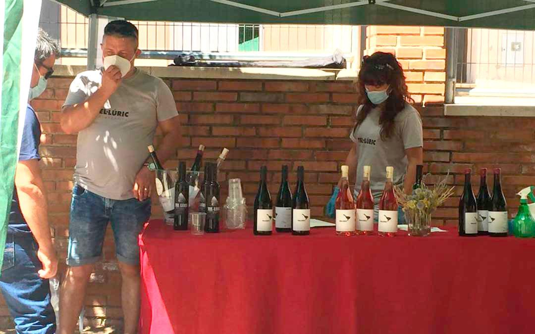 Demeter de Tastavins fue uno de los productores que se dio cita el domingo./ L.C.