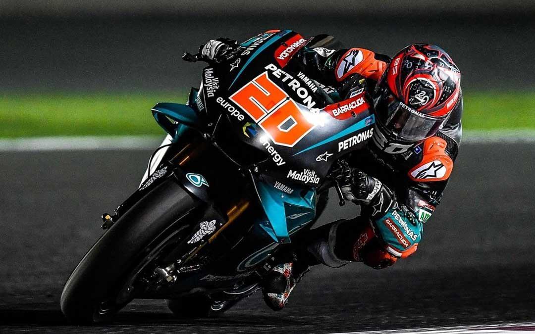 El francés Fabio Quartararo lidera la clasificación de MotoGP