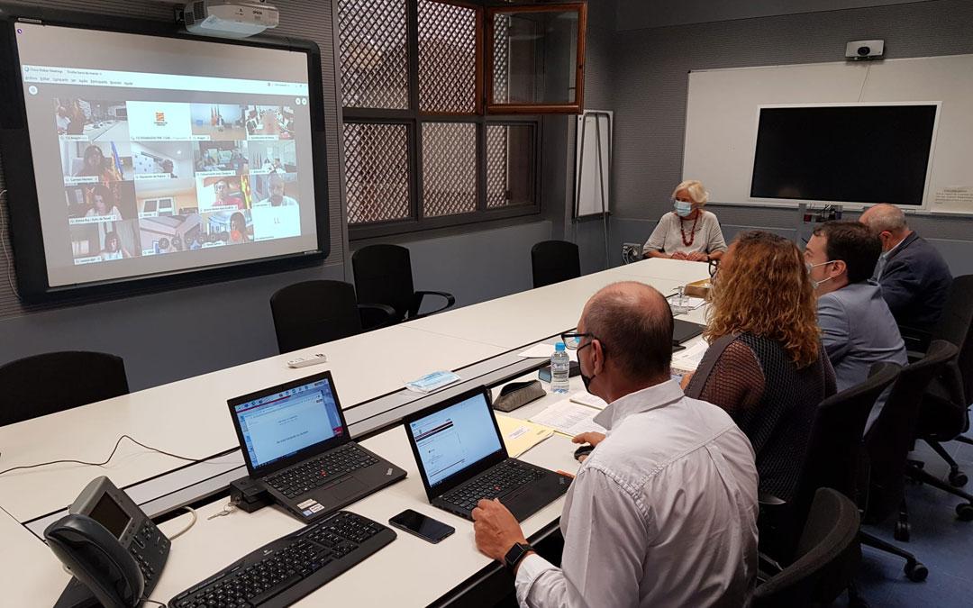 Reunión telemática de DGA con la FAMCP para abordar el inicio del curso escolar. / DGA