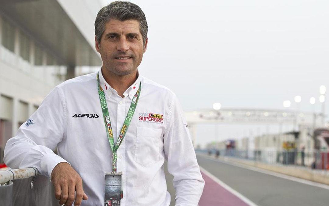 Gregorio Lavilla es el director ejecutivo de organización y deportiva del Mundial de SBK