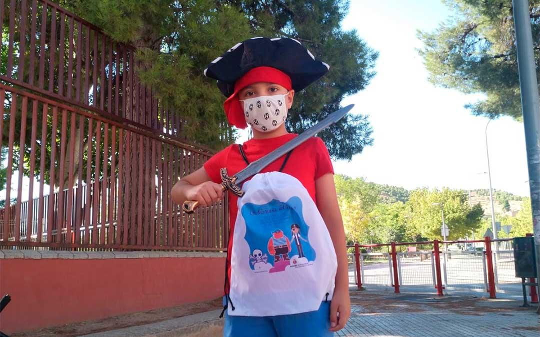 'La búsqueda del tesoro' en Alcañiz./ L.C.