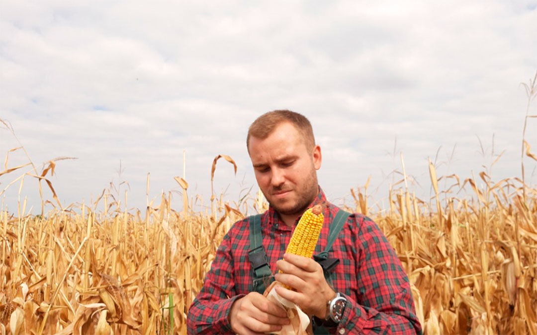 Joven agricultor./ DGA