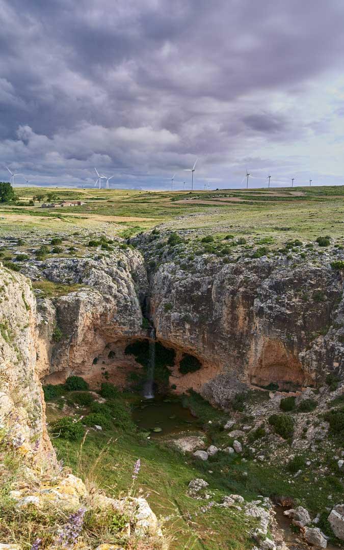 Barranco del Mortero, uno de los rincones más emblemáticos de la Sierra de Arcos. / Juan Carlos Peguero