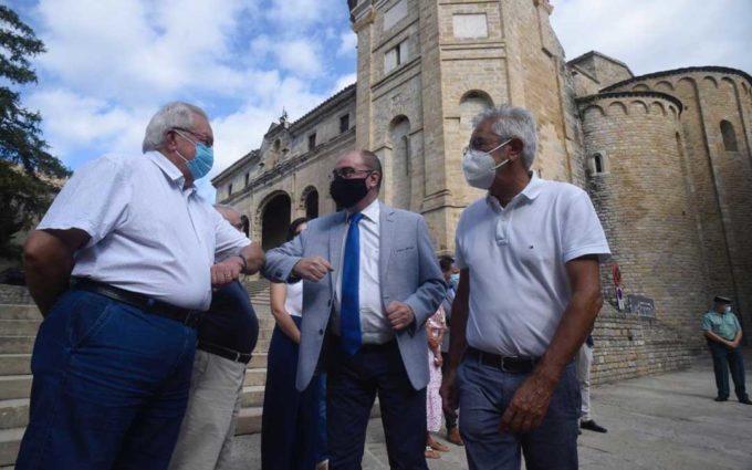 """Lambán: """"Que el ministro de Sanidad visite el Matarraña demuestra hasta qué punto Aragón es un destino fiable"""""""