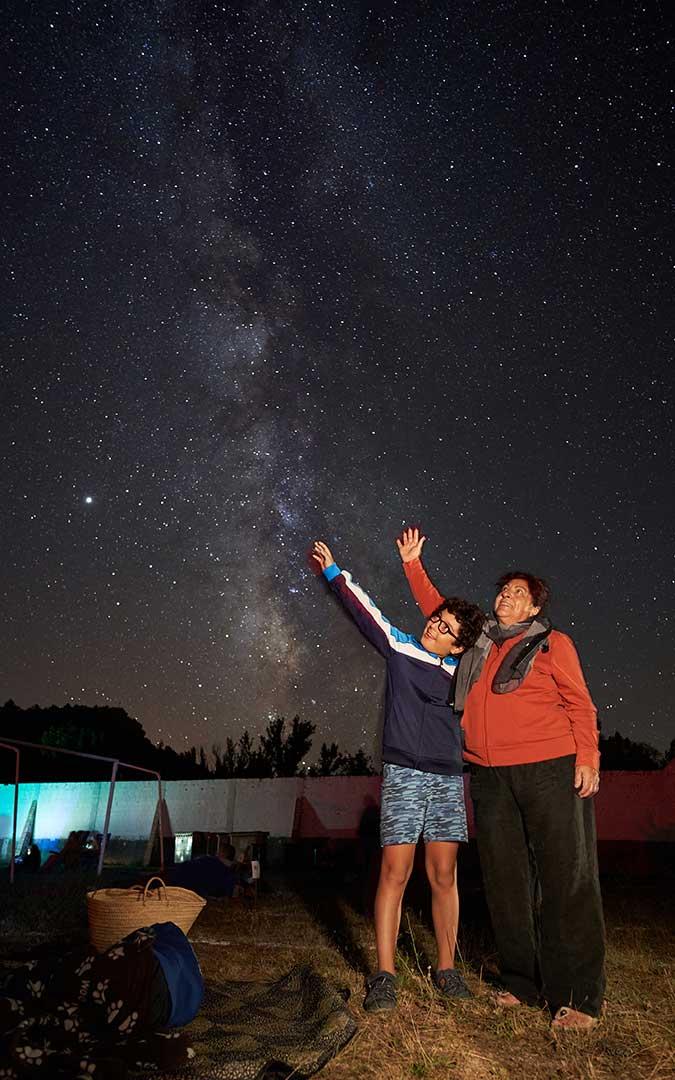 Tocar el cielo se hizo fácil la noche del miércoles en el Monasterio de El Olivar./ Juan Carlos Peguero