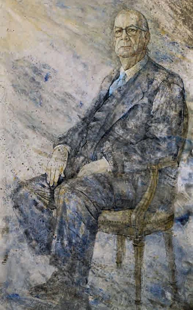 Retrato de Camilo José Cela. / Nati Cañada