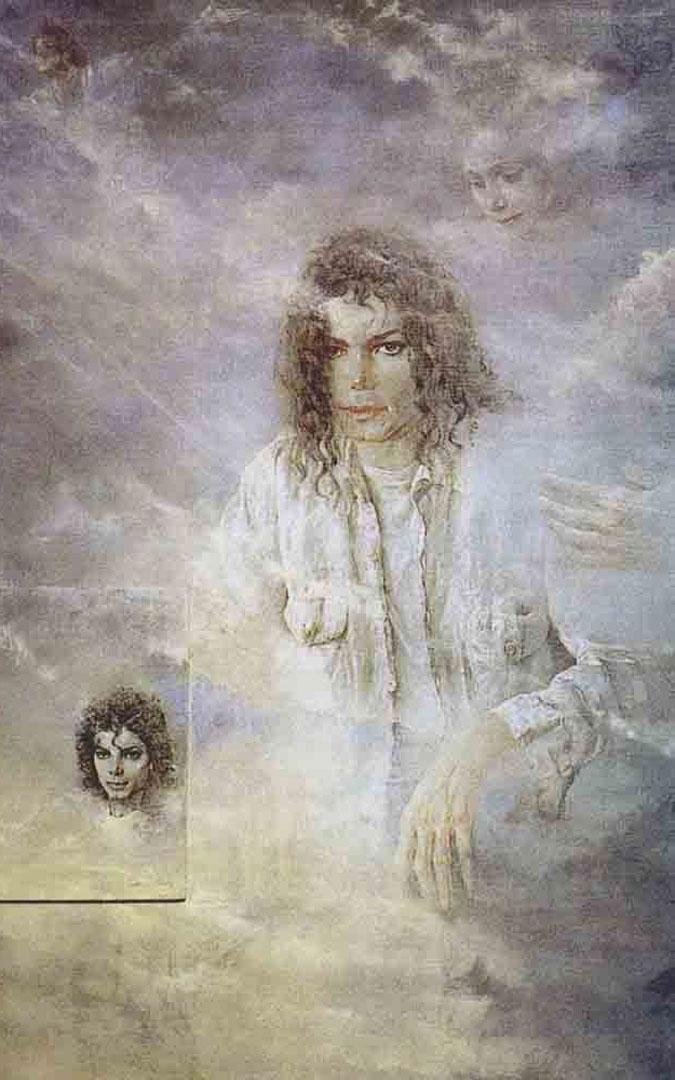Michael Jackson posó para Cañada, algo nada usual. / Nati Cañada