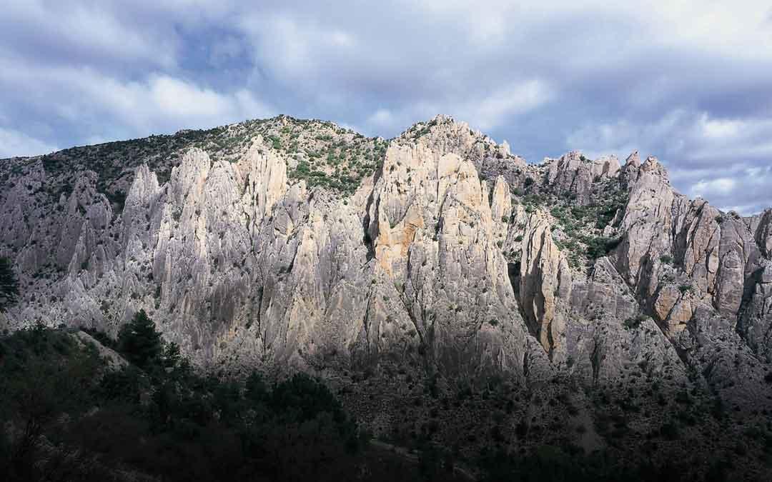 Los Órganos de Montoro uno de los monumentos naturales con los que cuenta la Comarca del Maestrazgo