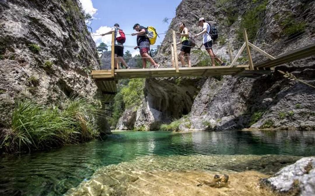 El Parrizal de Beceite es uno de los espacios más visitados / Turismo de Aragón