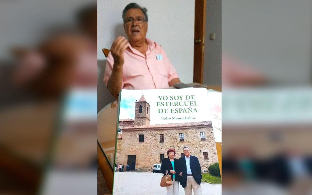 Pedro Muñoz Lahoz, el autor del libro de poemas 'Yo soy de Estercuel de España'./ L.C.