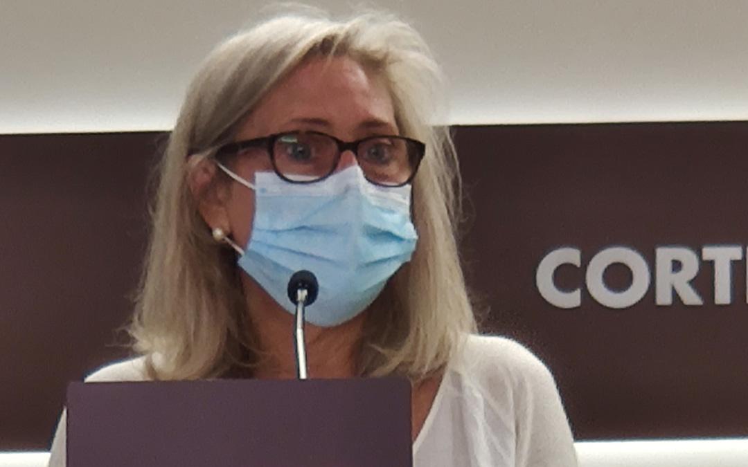 Pilar Cortés, portavoz de Educación del grupo parlamentario del PP en las Cortes. / PP