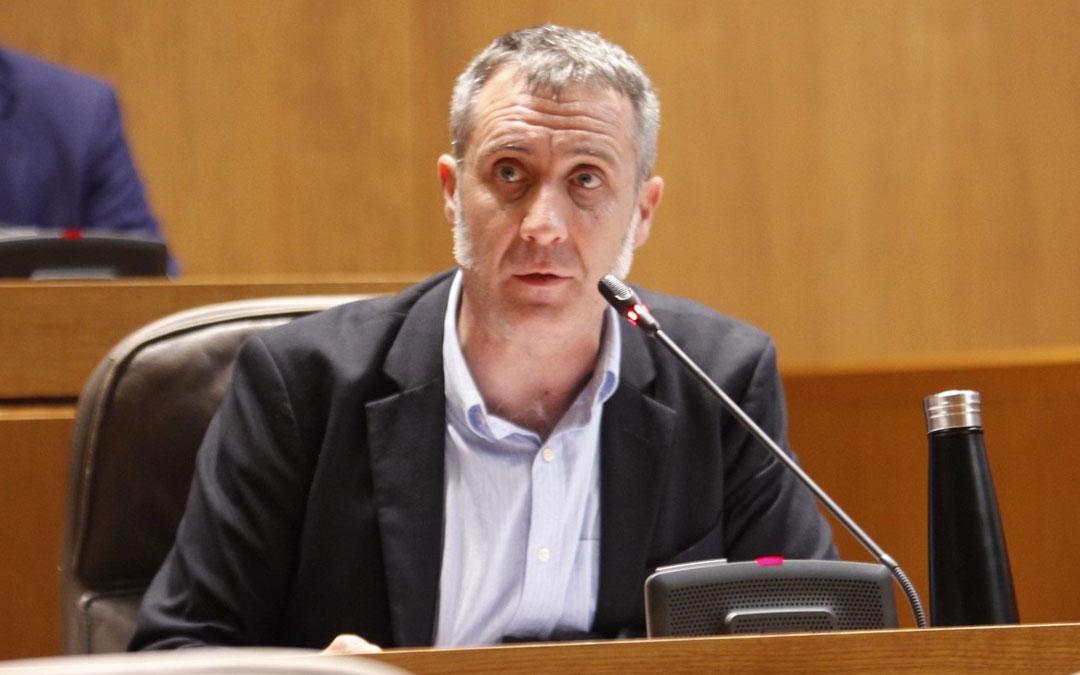 Ramiro Domínguez es el portavoz de agricultura de Ciudadanos en las Cortes de Aragón