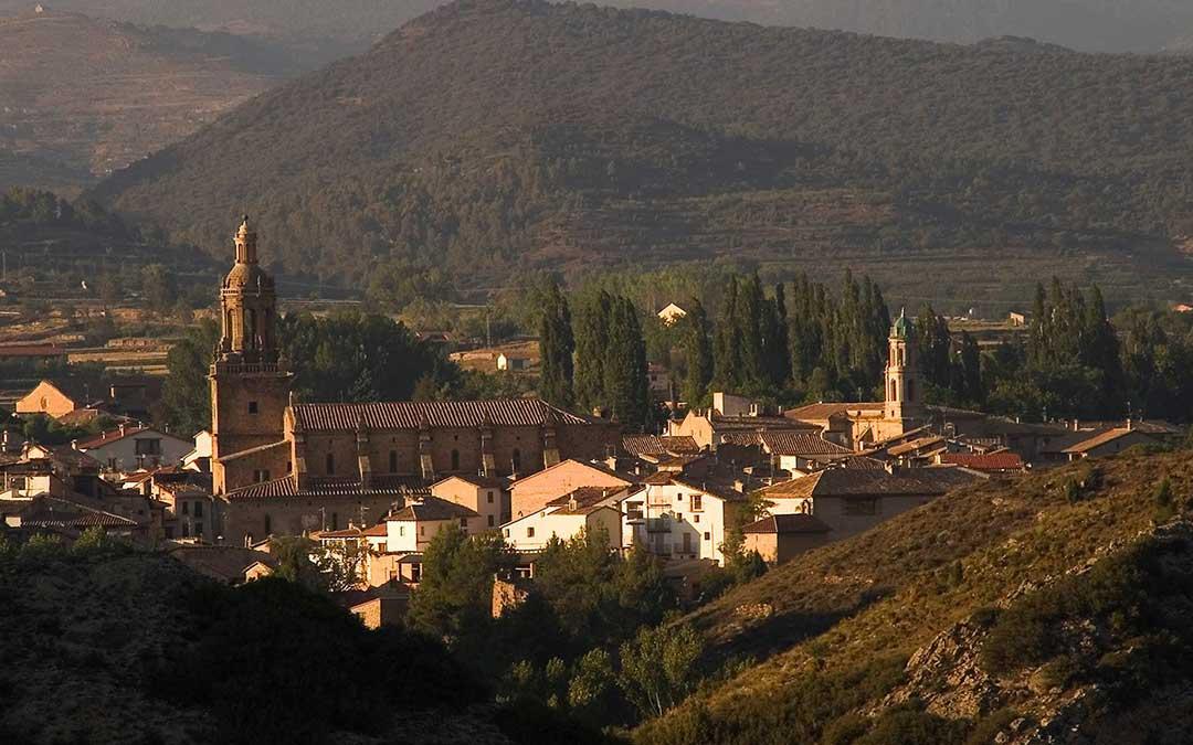 Imagen panorámica de Rubielos de Mora./ Ayto. Rubielos de Mora