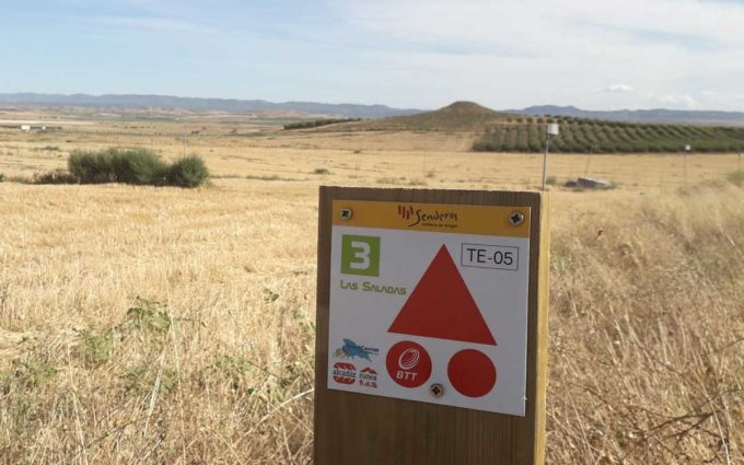 El sábado se presentará la 'Ruta 3 Las Saladas' de Alcañiz en el Camping La Estanca