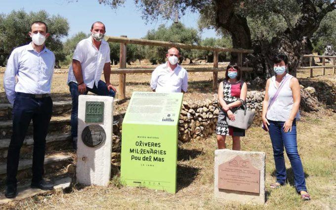Las Diputaciones de Teruel, Castellón y Tarragona ponen en valor el patrimonio del Sénia