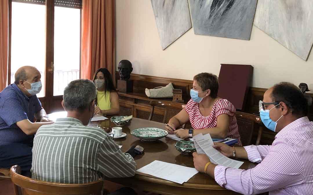 Junta de portavoces en la provincia de Teruel