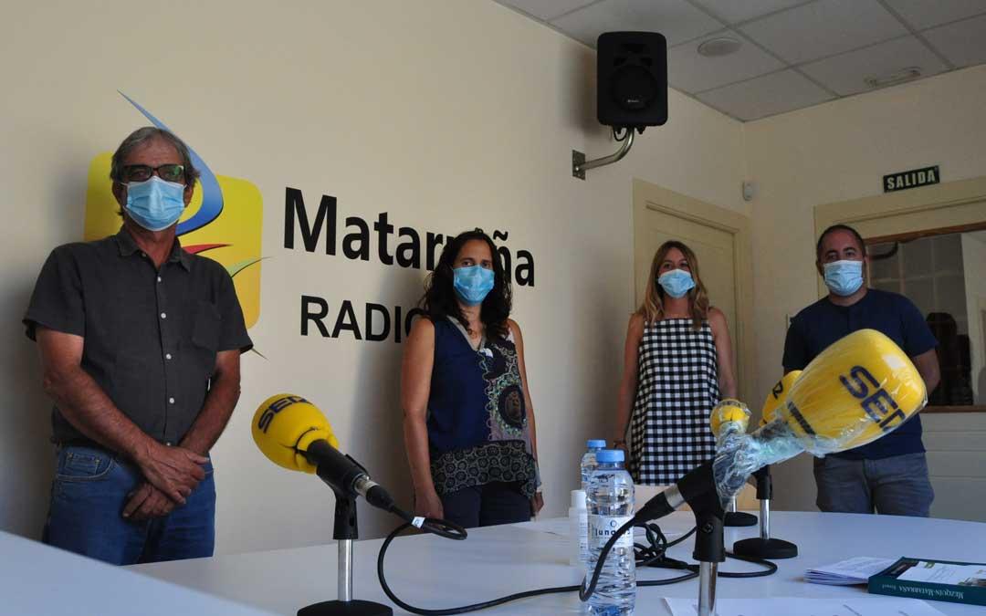Invitados del programa especial dedicado a la comarca del Matarraña.