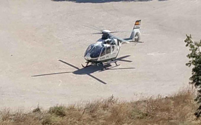 Se mantiene la búsqueda de los ladrones que huyeron de Albalate en un mercedes gris robado
