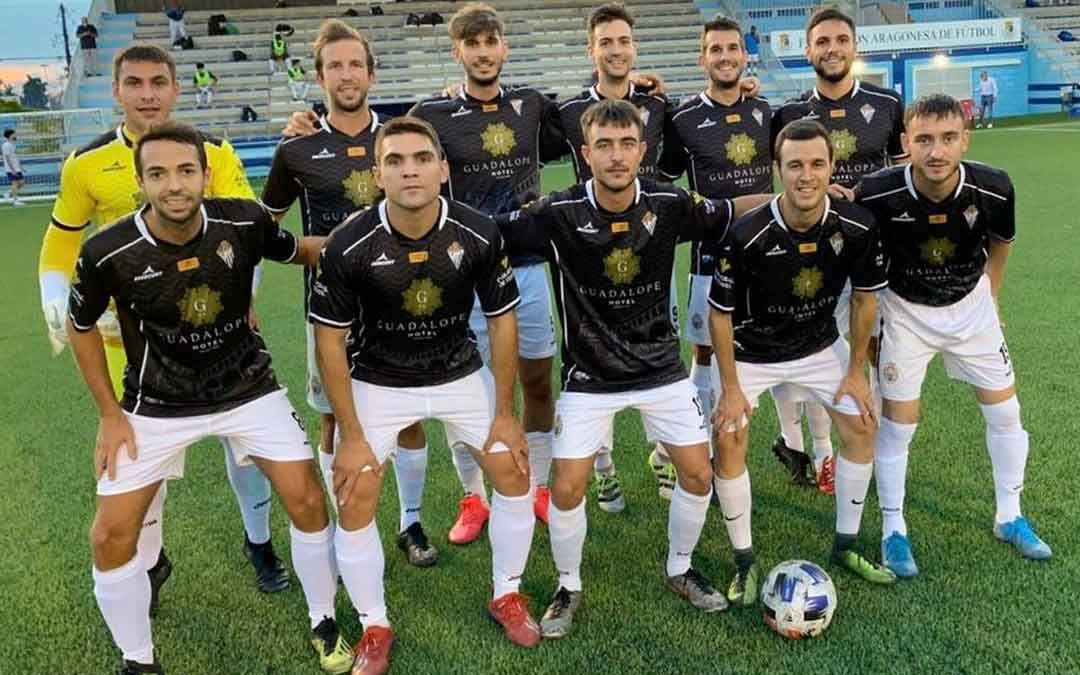 Once del Alcañiz en el primer partido de pretemporada