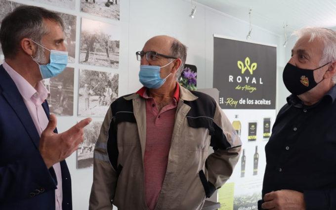 """Cs pide """"apoyo e impulso"""" para que la Royal de Alloza entre como variedad en la DO Aceite del Bajo Aragón"""