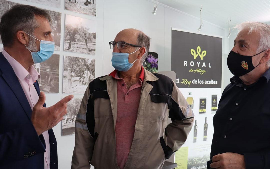 Visita de Ciudadanos a la iniciativa de 'Royal de Alloza'. / Cs