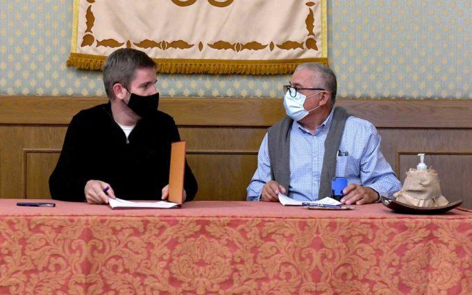 El Ayuntamiento de Alcañiz renueva sus convenios con Asapme, Cruz Roja y Ercávica por 14.000 euros