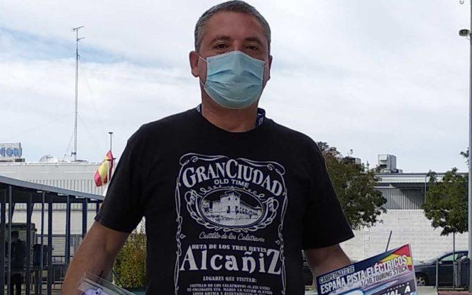 José Manuel Salafranca finaliza 3º en la categoría Máster 40 en la cita del nacional de touring 1/10 pista
