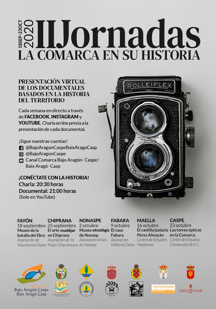 II Jornadas La comarca en su historia