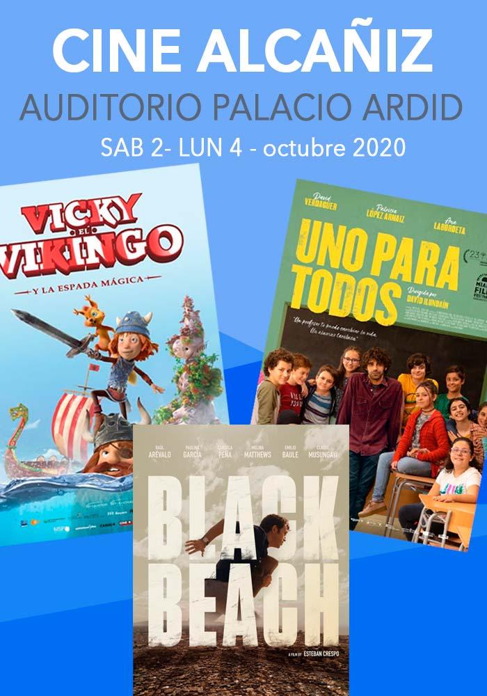 Cine Alcañiz  3/10/20 - 5/10/20