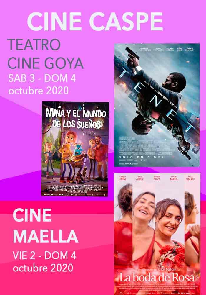 Cine Caspe-Maella  2/10/20 - 4/10/20